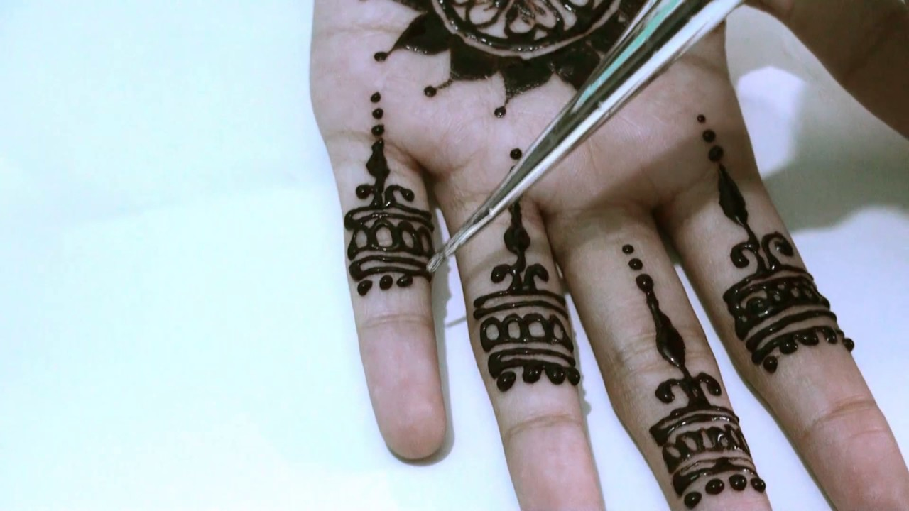Easy Mehndi Tutorial : New style easy mehndi designs for hands design