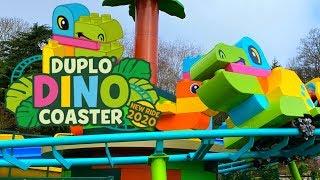 DUPLO Dino Coaster Opening Day Vlog - LEGOLAND Windsor March 2020