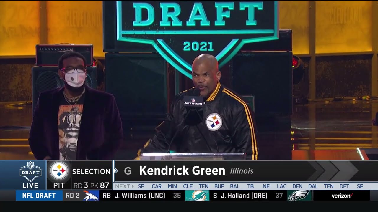 Darryl McDaniels of Run-D.M.C. trolls Cleveland with Steelers draft pick announcement