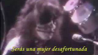 KISS Hard Luck Woman subtitulado al español