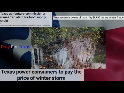 TEXAS FOOD SUPPLY CHAIN IN BIG TROUBLE AS ELECTRICITY RATES GO UP BY 300 TIMES THE NORMAL RATE
