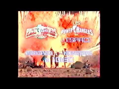Power Rangers Dans L'Espace - Fox Kids - Bande Annonce