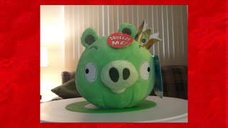 angry birds king pig plush toy review