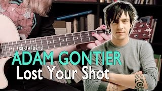 Как играть Adam Gontier - Lost Your Shot | Разбор COrus Guitar Guide #40
