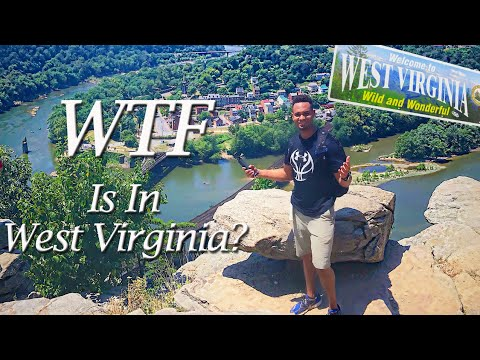 WTF IS IN WEST VIRGINIA? | Travel Vlog | Harpers Ferry