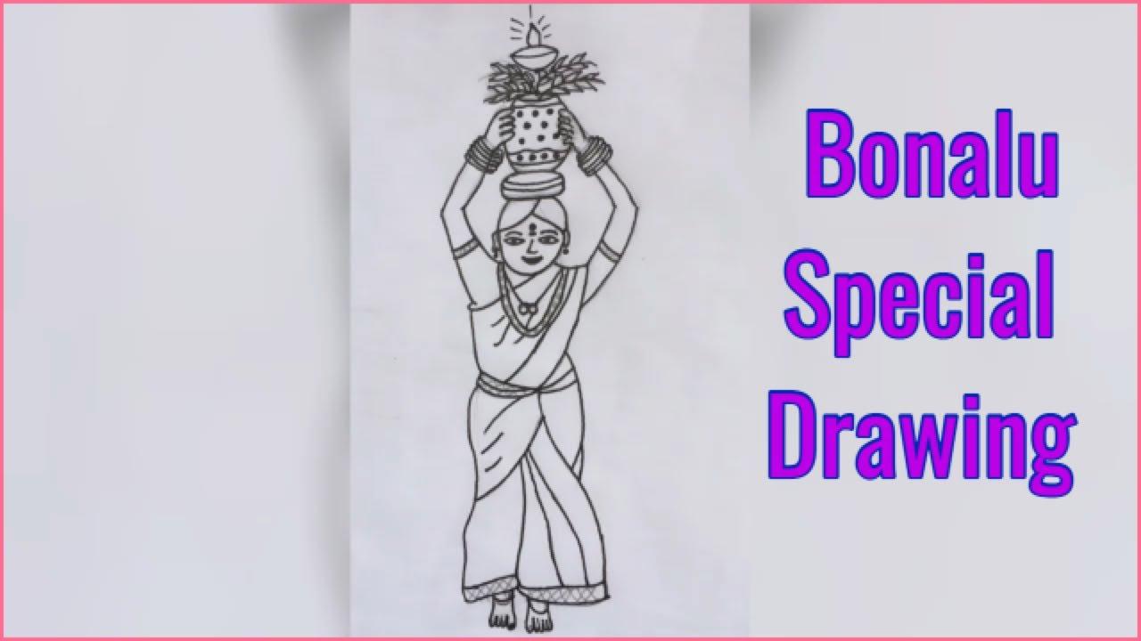 bonalu festival special drawing #1