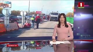 Внешнее кольцо моста на МКАД в районе Лошицы открыто