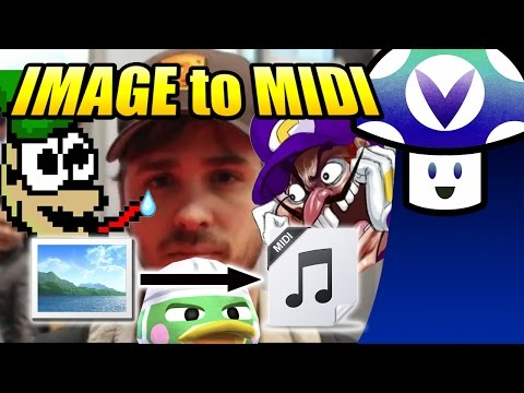 [Vinesauce] Vinny - Image to MIDI