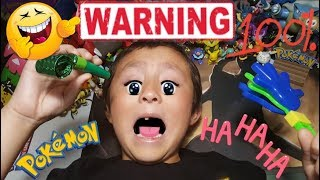 WARNING!! TRY NOT TO LAUGH CHALLENGE!! 100% YOU WILL LAUGH!! FUNNIEST POKEMON CARDS OPENING EVER!!
