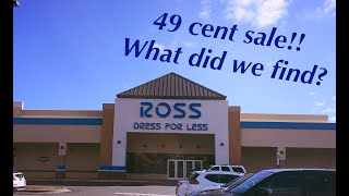 Ross 49 Cent Sale~Monday Janua…