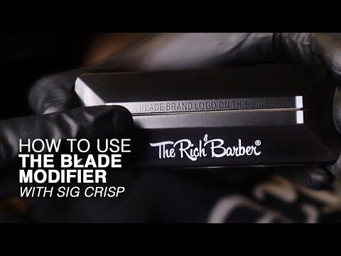 HOW TO USE THE 1 MINUTE BLADE MODIFIER WITH SIG CRISP