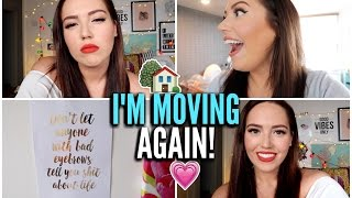 I'M MOVING AGAIN!