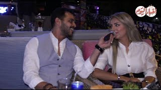 أخبار اليوم | محمد رشاد يغني لـ خطيبته في حفل سحور كايرو سكاي بحضور نجوم الفن