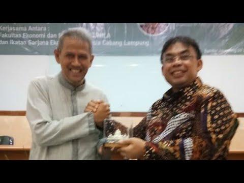 ISEI Lampung Bahas Prospek Keuangan Syariah Bareng Anggito Abimanyu