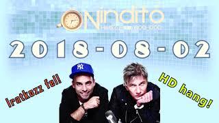 Music FM Önindító HD hang 2018 08 02 (Csütörtök)