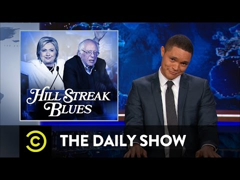 Hillary Clinton Feels the Bern: The Daily Show