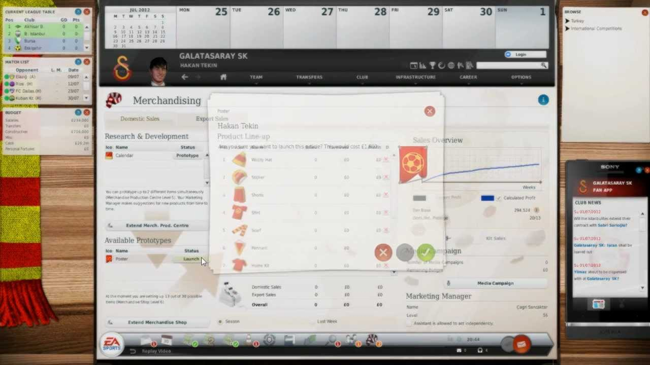 Fussball manager 2013