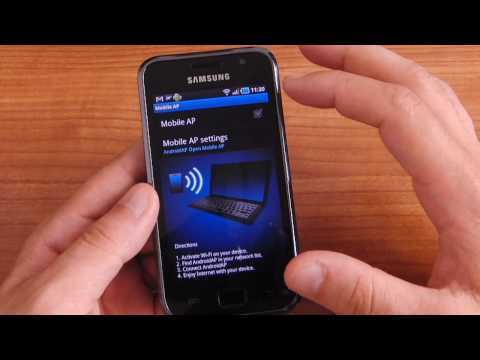 Samsung Galaxy S running Android Froyo 2.2