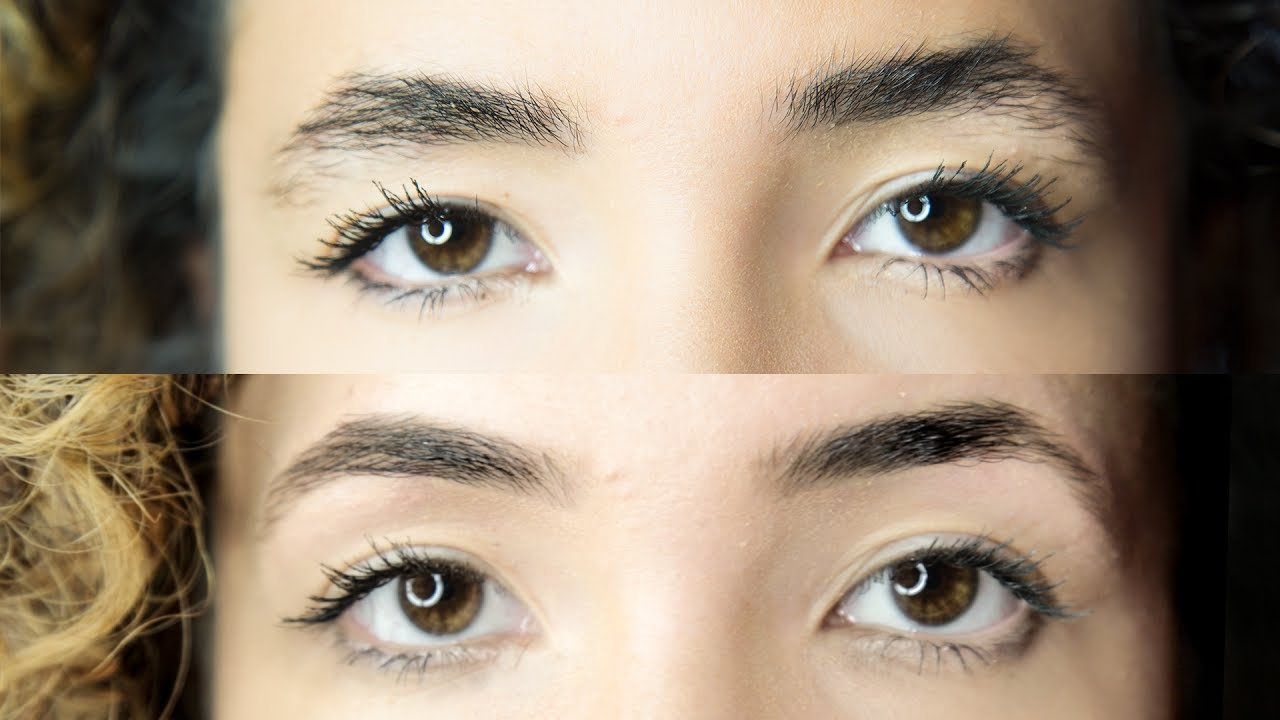 How To Go From Thick To Natural Eyebrows With Eyebrow Threading
