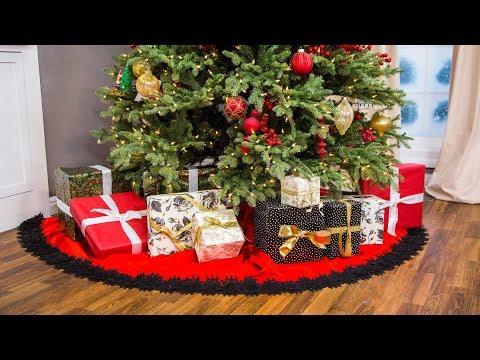 DIY Christmas Tree Skirt - Home & Family