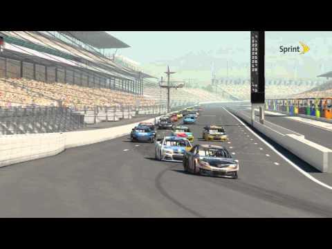 NASCAR '14-Race Replay-The Brickyard 400-Rowdy Burns Exxon