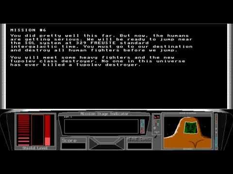 Earth Invasion V1.0 (1993) DOS Shareware Gameplay