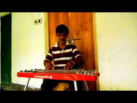 O Amar Desher Mati on Electric Guitar by Amalesh Majumder