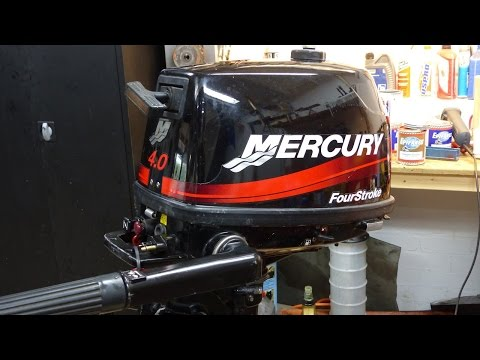 Mercury 4 stroke 4-5-6Hp engine block change