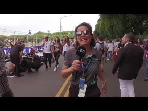 Panasonic Jaguar Racing at Formula E in Buenos Aires, Argentina