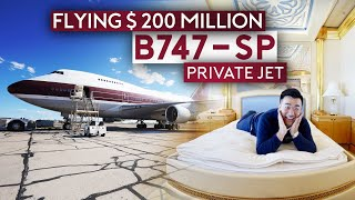 Download Flying $200 Million Boeing 747-SP Private Jet ALONE Mp3 and Videos