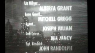 """The Edge of Night"" closing credits 4/16/66"