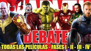 MARVEL DEBATE  - Destino : INFINITY WAR -  IRON MAN - CAPITAN AMERICA - THOR - THANOS - SPIDERMAN