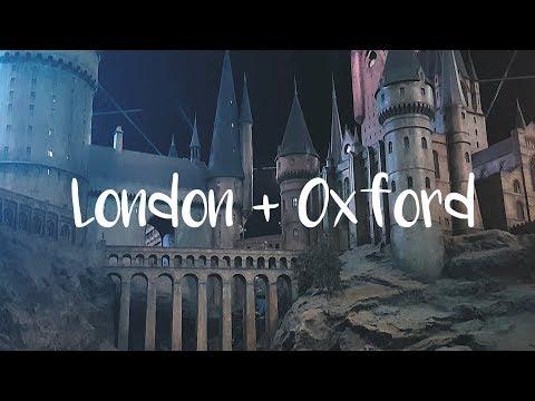 London + Oxford | Harry Potter Studio Tour | Travel Video