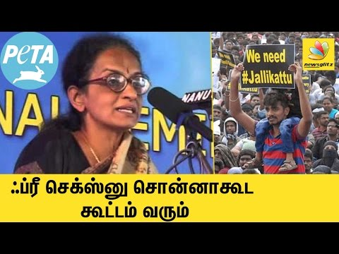 Youngsters will gather in Marina even if you offer free sex - PETA Radha Rajan