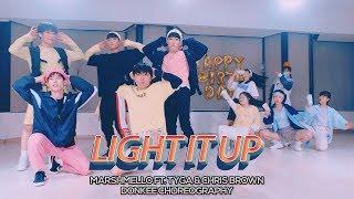 Marshmello Light It Up ft. Tyga & Chris Brown : Donkee Choreography
