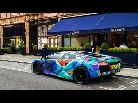 Found a Fake Lamborghini Murcielago in London