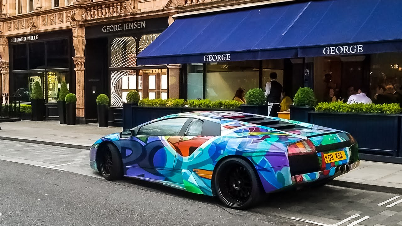 Found A Fake Lamborghini Murcielago In London Youtube