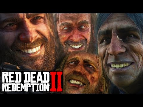 FUNNIEST MOMENTS OF RED DEAD REDEMPTION 2 STORY MODE!