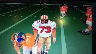 Madden NFL 2002 PS1 Gameplay 1989 SF 49ers vs 1988 Denver Broncos