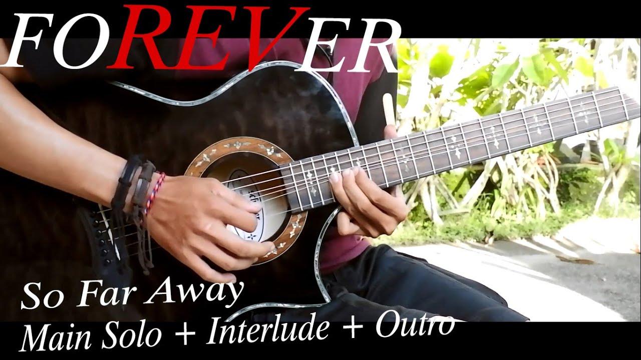 avenged sevenfold so far away acoustic guitar main solo interlude outro youtube. Black Bedroom Furniture Sets. Home Design Ideas