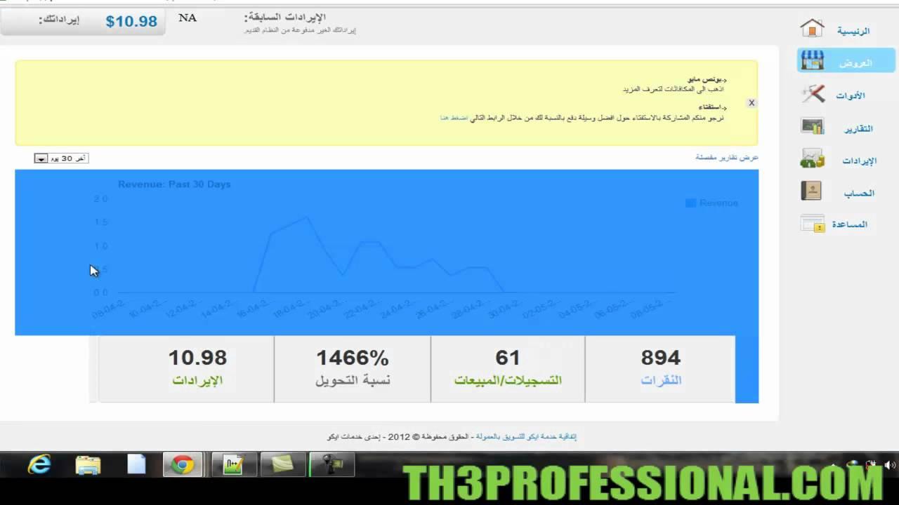 كيف تربح المال من الانترنت عن طريق تسويق منتجات عربية