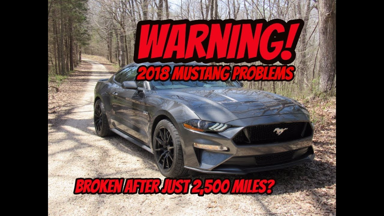 Warning To 2018 Mustang Gt M6 Owners Transmission Failure