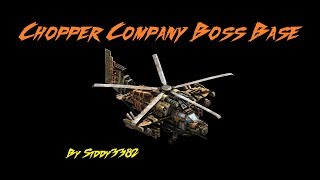 War Commander - Survivors (105) Chopper Company Boss Base, Different Way.