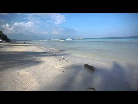 Panglao White Sand Beach Bohol, Philippines