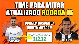DICAS RODADA 16 - TIME PARA MITAR ATUALIZADO - CARTOLA FC 2019