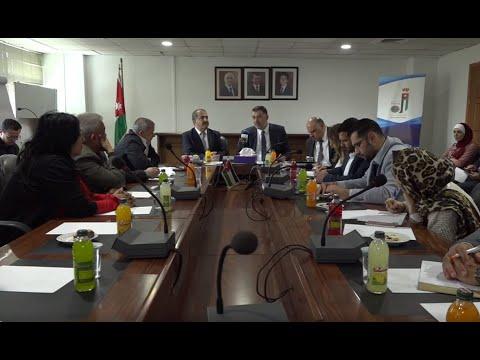 ندوة حوارية نظمتها وكالة الأنباء الأردنية بترا لرئيس ديوان الخدمة المدنية