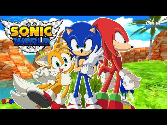 Sonic World (Sonic Fangame) #SonicMarathon