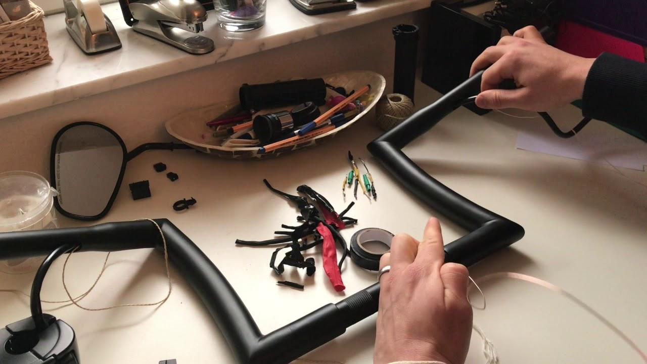 harley sportster 48 lenkerwechsel teil 2 verkabelung. Black Bedroom Furniture Sets. Home Design Ideas