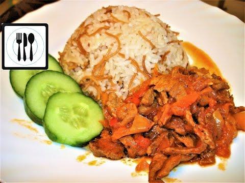 Что приготовить на ужин? Турецкий рассыпчатый рис и жареное мясо Чобан Кавурма