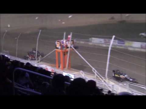 Wingless Sprints at Lawrenceburg Speedway 5-13-2017